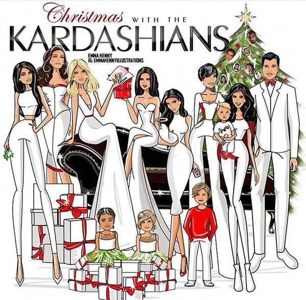 Kardashian Family Christmas Cards See Cards Kardashian Christmas Kardashian Christmas Card Kardashian