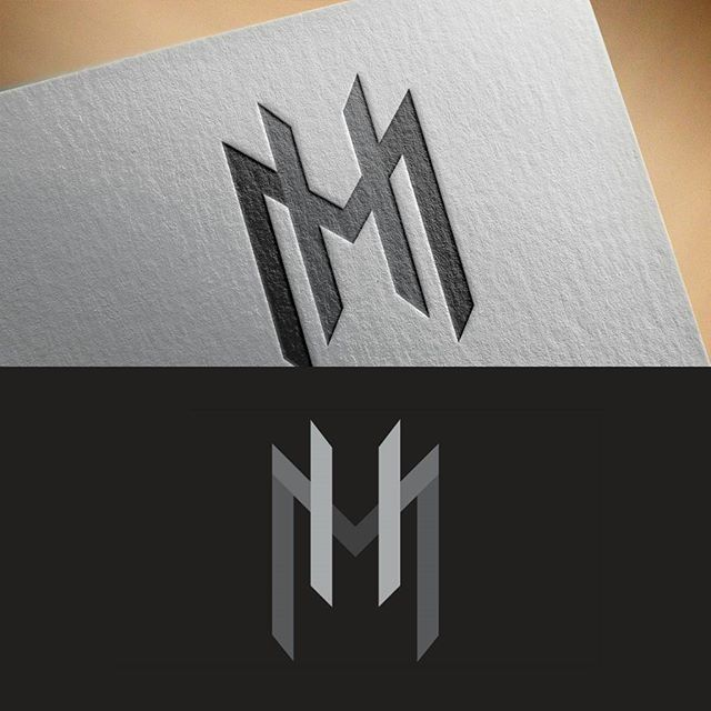 MH Monogram Logo For Sale! Unused (With Images)