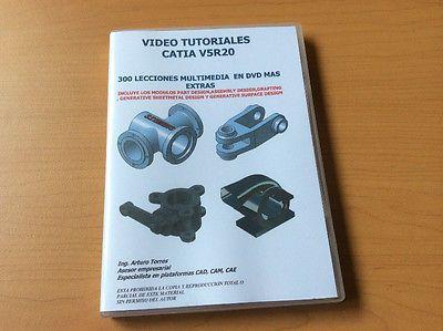 VIDEO TUTORIALES CATIA V5 R20 ORIGINALES PASO A PASO VIDEOCURSO APRENDE A TU RITMO  #Video, #Tutoriales, #Catia, #Originales, #Paso, #Videocurso, #Aprende, #Ritmo