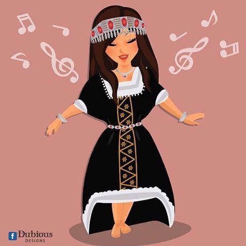 دن دني دني دني دااااانا Yemen Women Girly Drawings Cute Girl Drawing