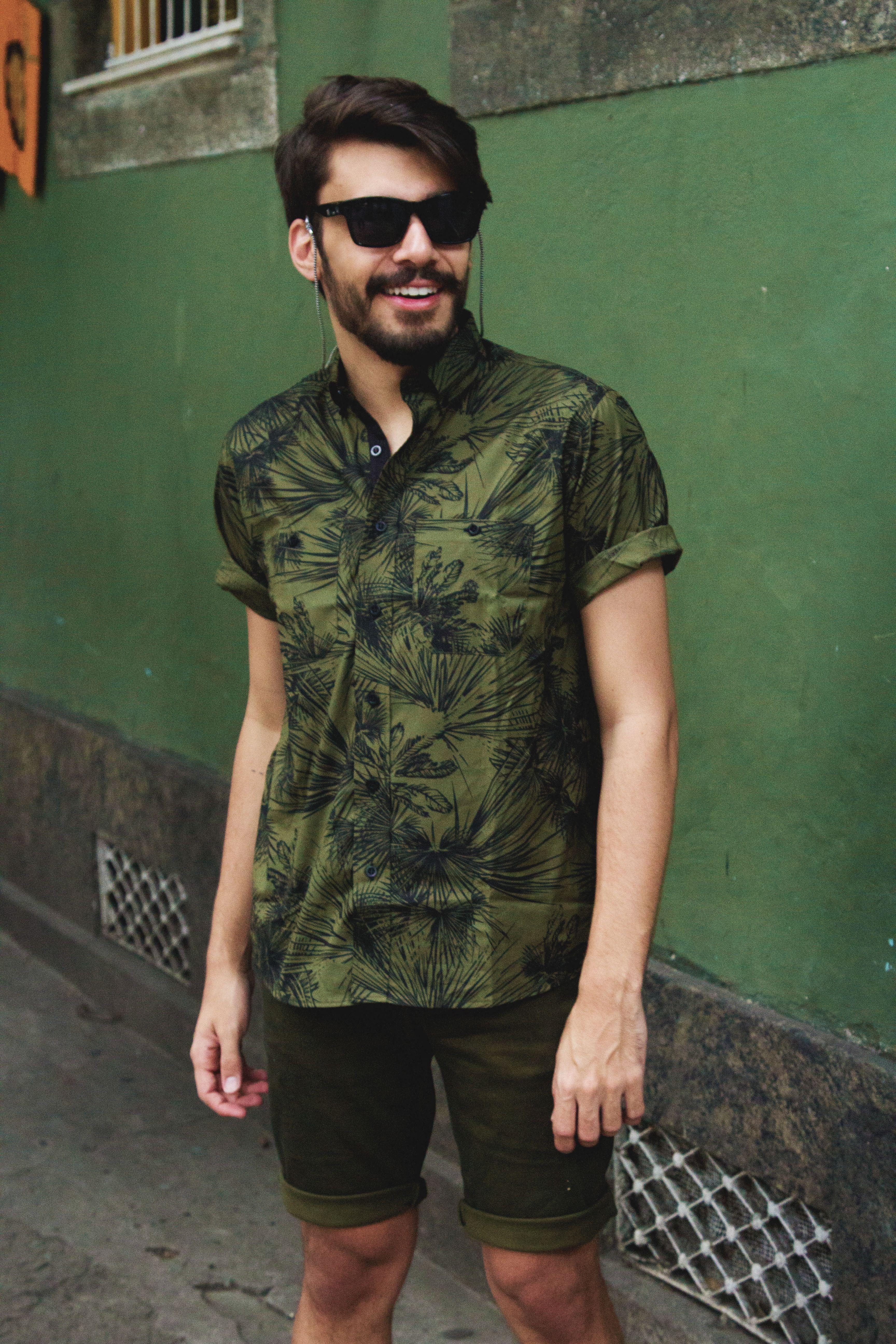 fad76b3ceb Outfit do dia  24  camisa social masculina estampada