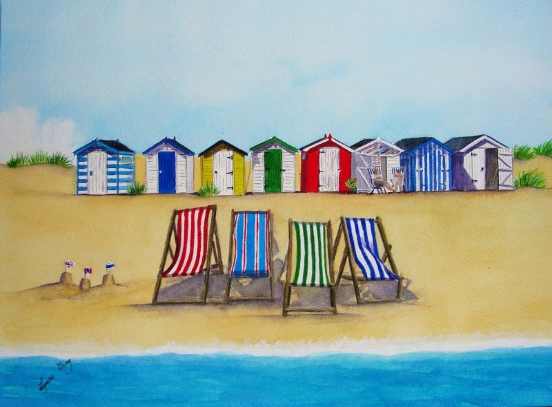Beach Huts And Deckchairs Sold