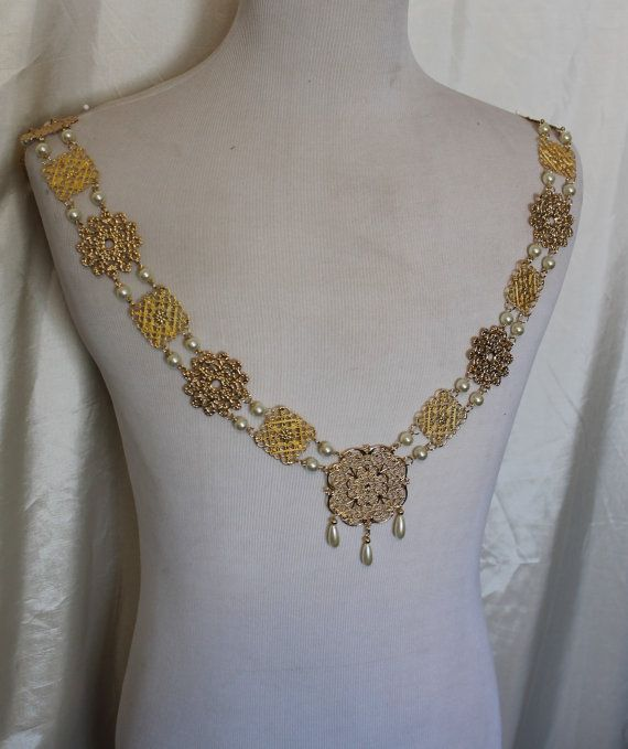 Mens Tudor Chain OfficeLivery King Henry Of Gold Collar CxoBde