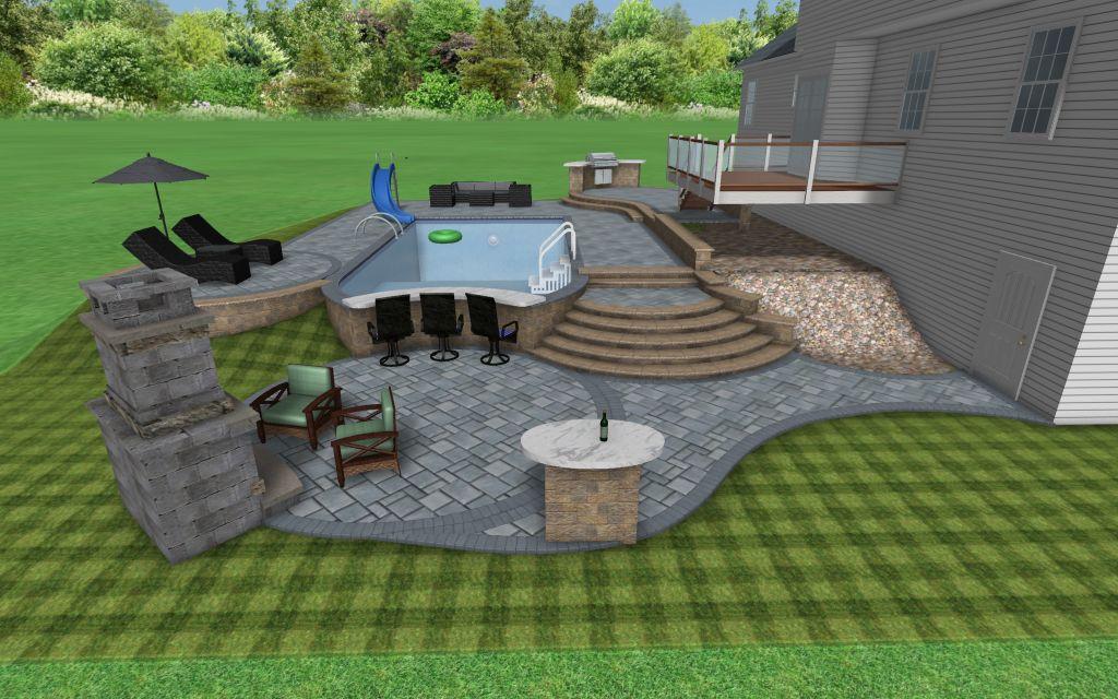 Pool Designs For Large Backyards on inground pool designs, large backyard with pool, large front yard landscaping ideas, backyard flower garden designs, inground jacuzzi designs,