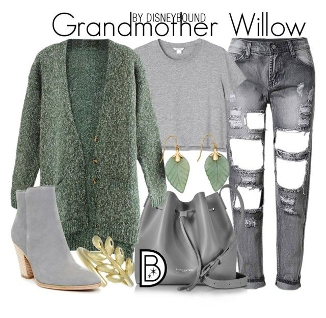 """""""Grandmother Willow"""" by leslieakay ❤ liked on Polyvore featuring Monki, Lancaster, Finn, Donald J Pliner, disney, disneybound and disneycharacter"""