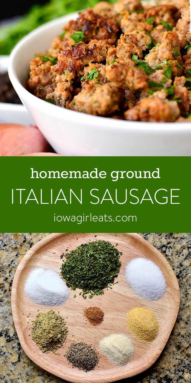 Photo of Homemade Italian Sausage – Iowa Girl Eats