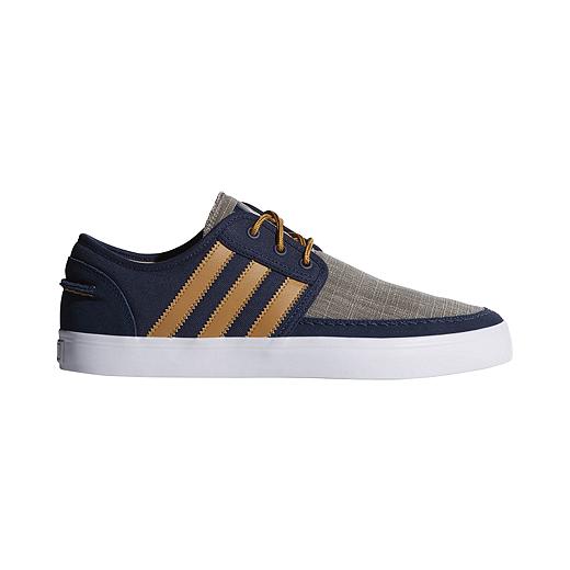 adidas Seeley Boat Men's Skate Shoes BlueTan | Mens skate