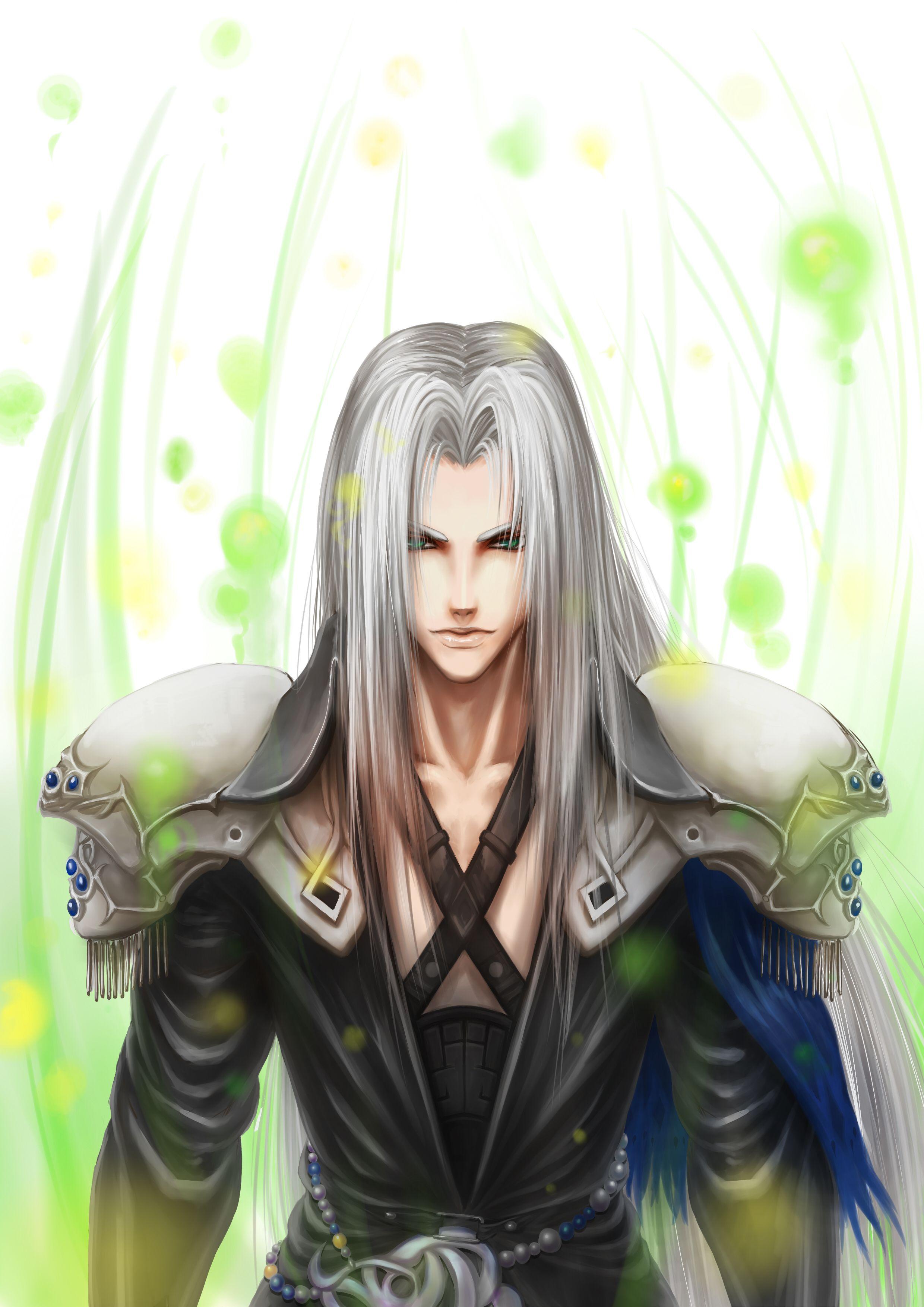 セフィロス Sephiroth Pentaclesのイラスト Final fantasy vii