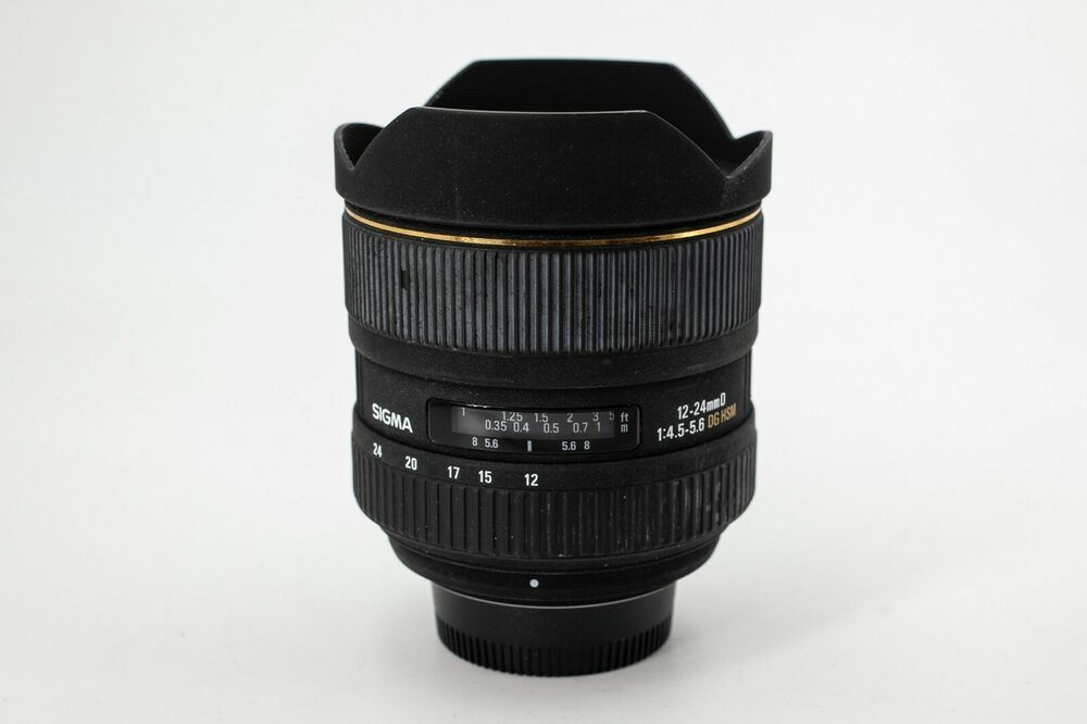 Sigma 12 24mm F4 5 5 6 Ex Dg Hsm Zoom Lens For Nikon Ff Not 14 24 2 8 Zoom Lens Stuff To Buy Category