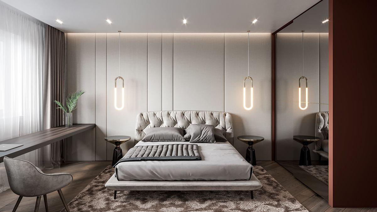 OBOLON RESIDENCES  Kyiv, Ukraine on Behance  Luxurious bedrooms