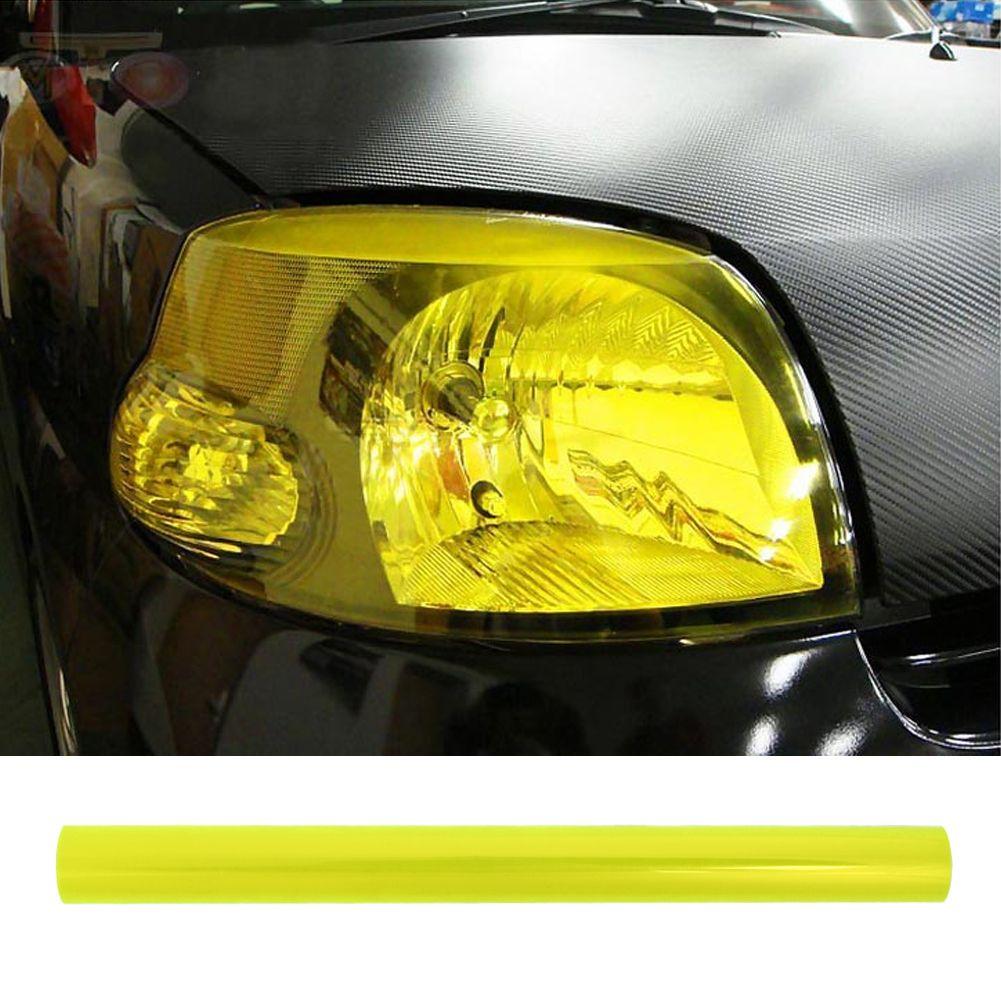 10 Colors Car Sticker Car Headlight Taillight Fog Light Tint Vinyl Film Sticker Change Light Color Film Lamp S Exterior Accessories Car Headlights Light Colors [ 1001 x 1001 Pixel ]