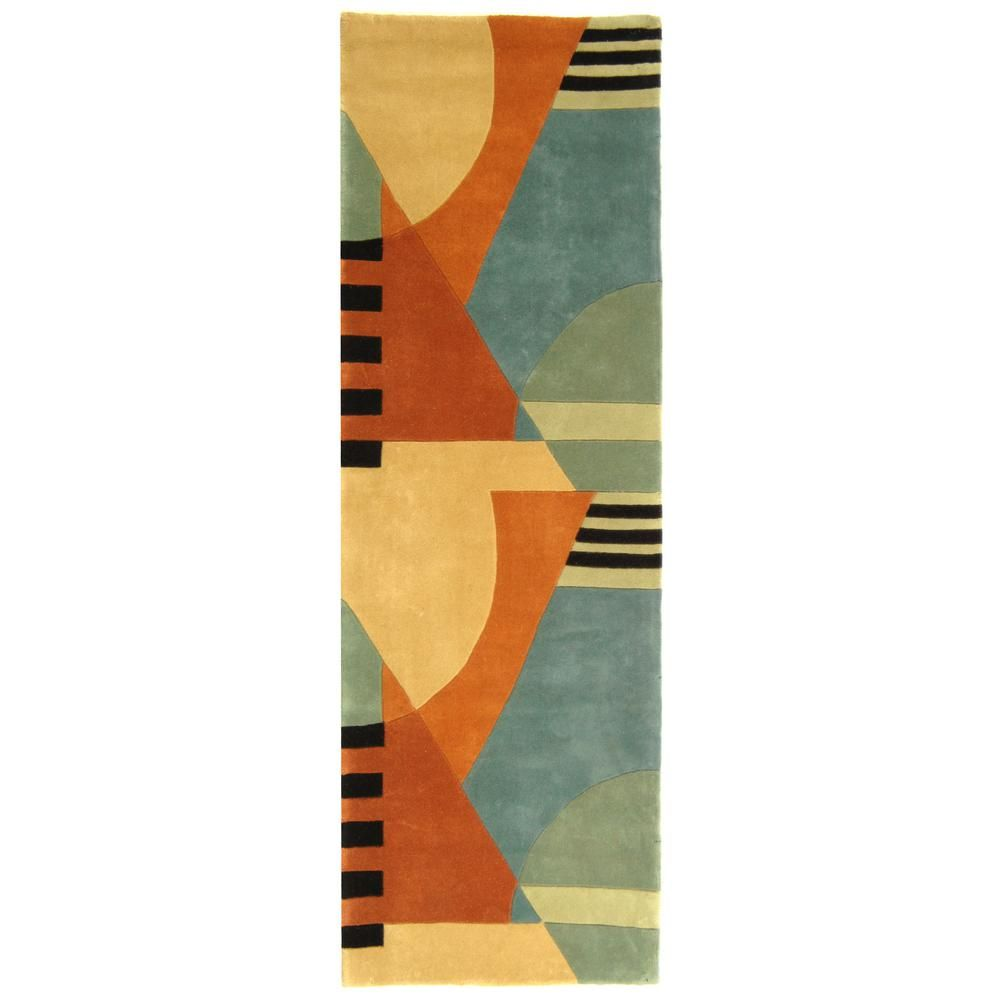 Safavieh Rodeo Drive Gold 3 Ft X 14 Ft Runner Rug Rd863a