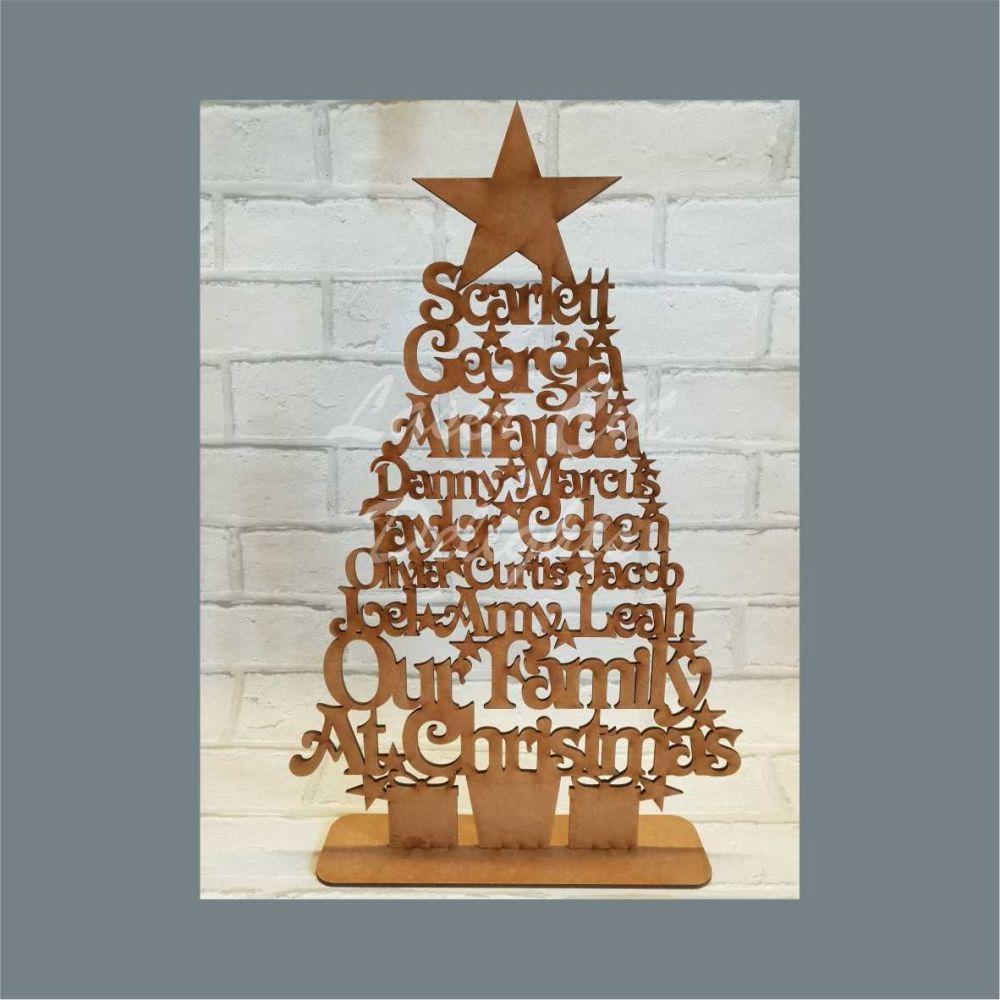 Christmas Trees Freestanding20cm x 5.