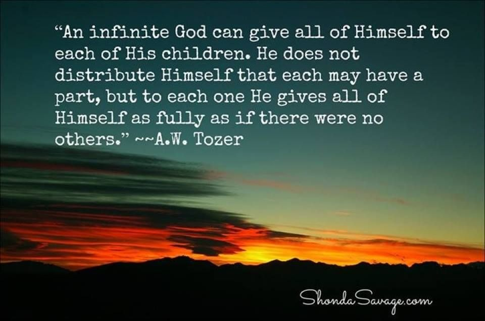 Pinterest Christian Quotes: Quote Of The Day: From A.W. Tozer Click Here To Read