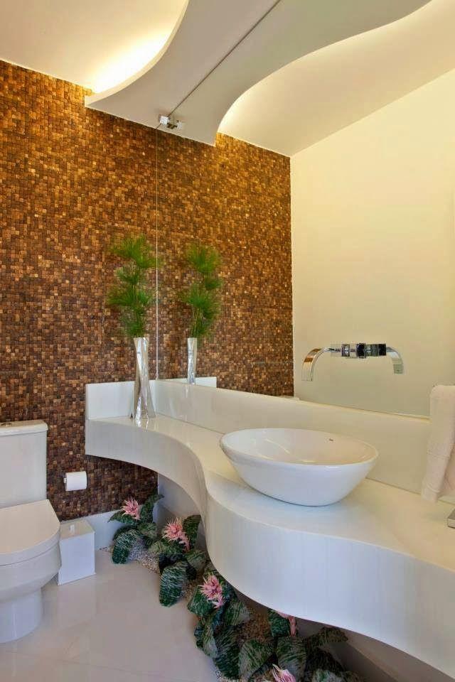 Decor Salteado - Blog de Decoração Arquitetura Construção - lavabos pequeos