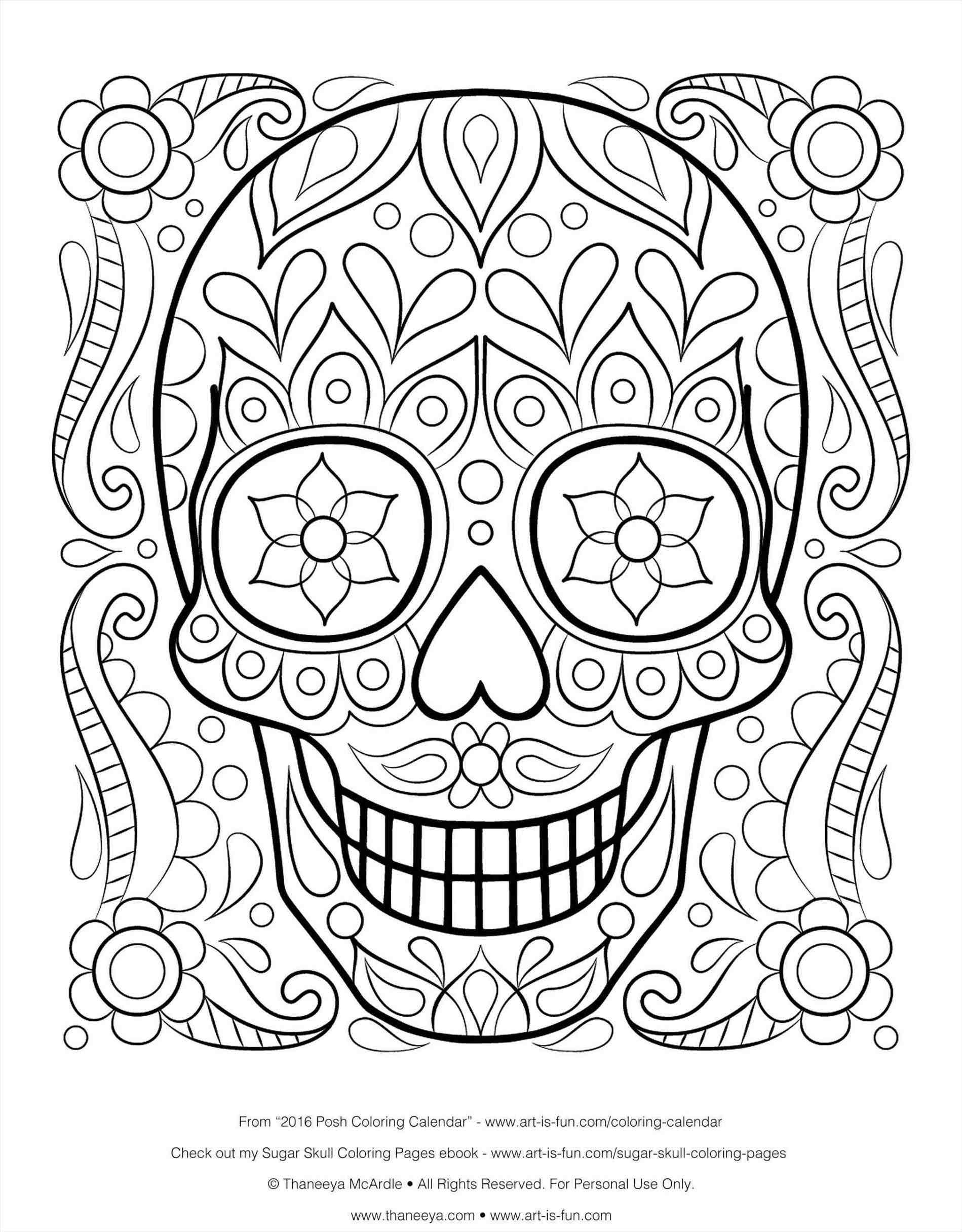 Printable Sugar Skull Candy Tattoo For Tatouage Of Simple Sugar Skull Coloring Pages Collect Skull Coloring Pages Detailed Coloring Pages Sports Coloring Pages