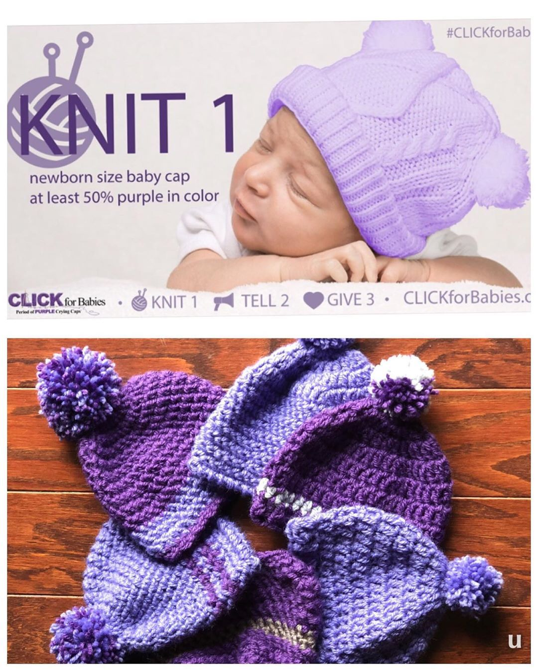 Clickforbabies Luneur Baby Cap Baby Knitting Kids Hats