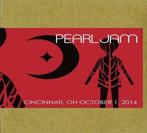 Pearl Jam: Cincinnati OH 10/1/14 bootleg- Sounds great! Thanks, 10c