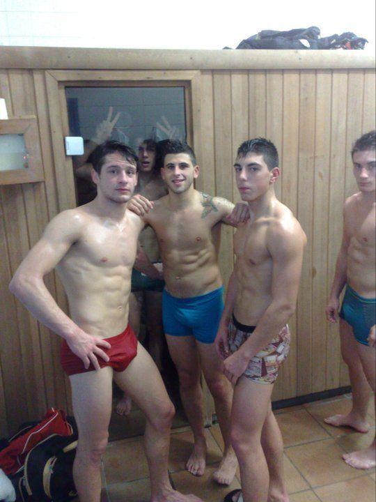 Straight guys in underwear