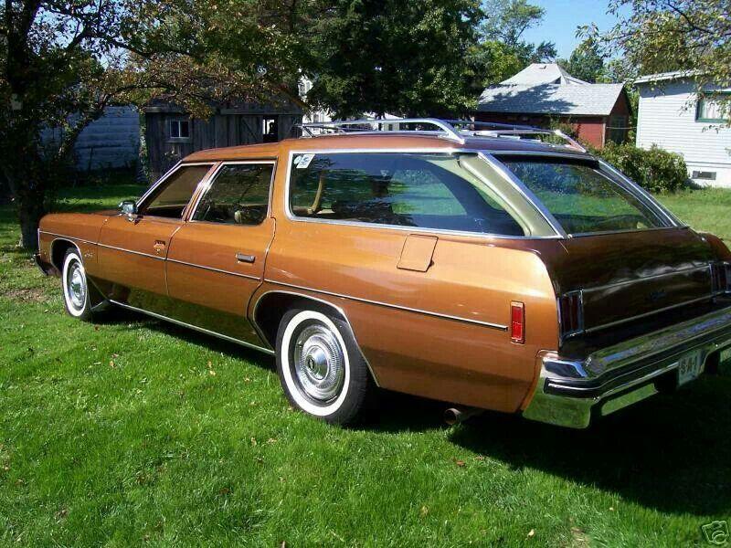13e7eb7e19 1974 Chevrolet Impala Wagon