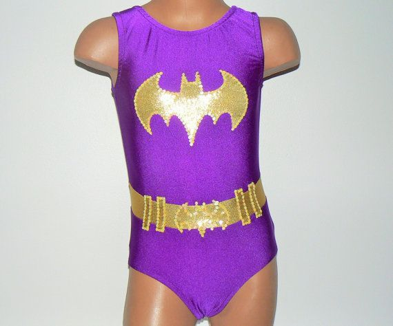 b1042df7b939 BATGIRL Inspired Toddlers Girls Leotard. Performance Costume ...