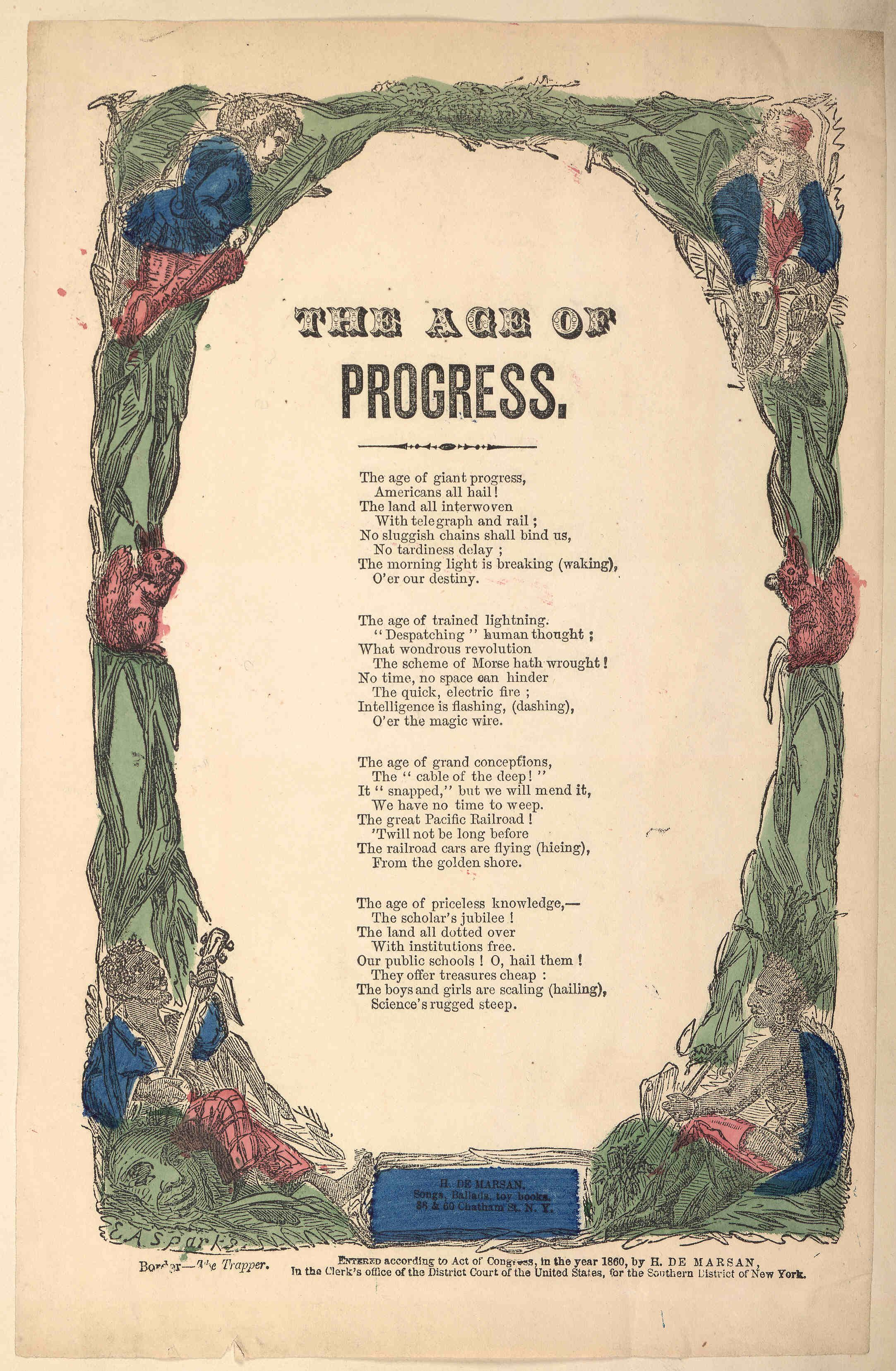 The Age Of Progress Song About How Technological