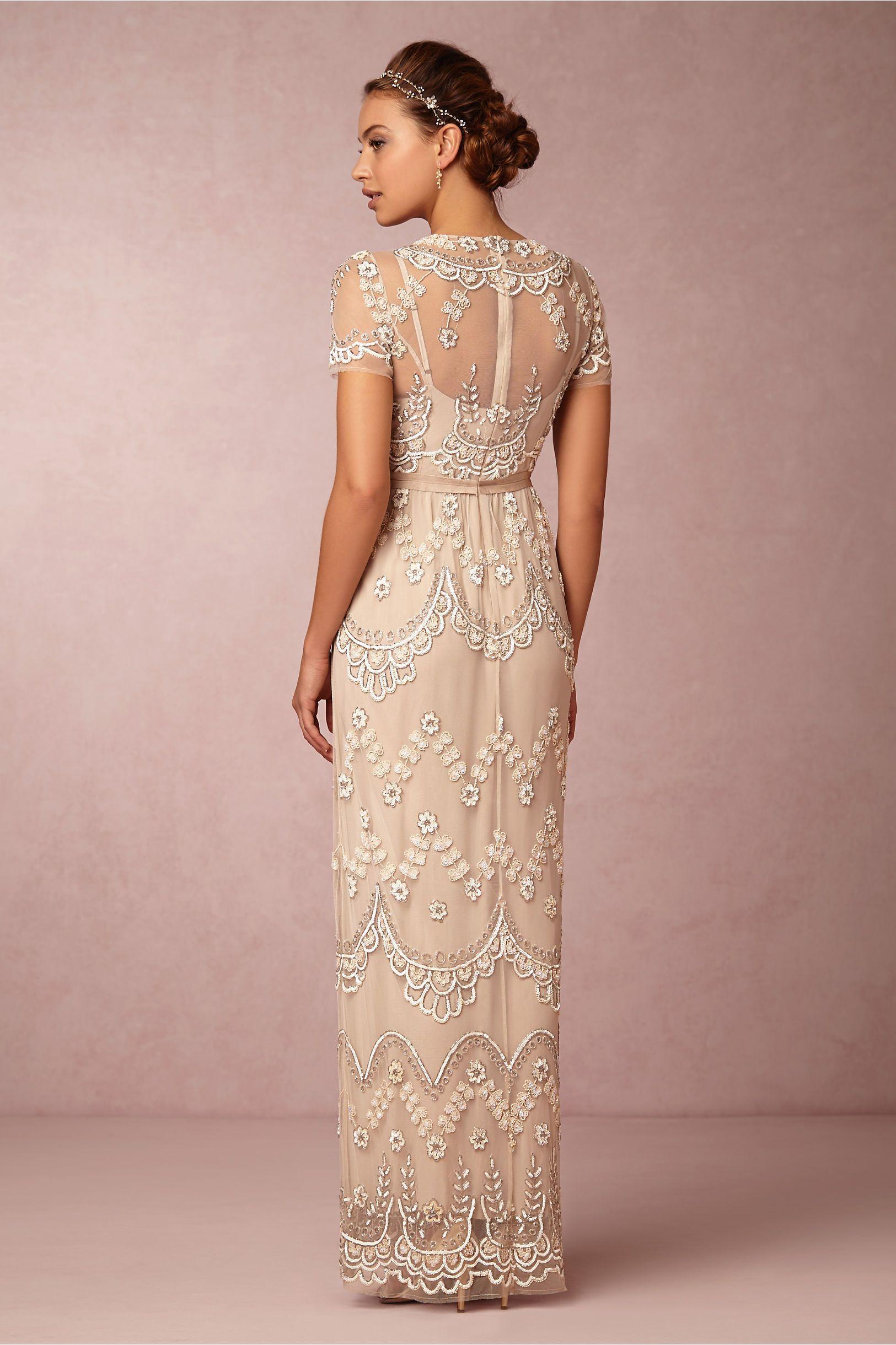 Tiered Petal Dress from BHLDN | Wedding | Pinterest | Novios y Boda