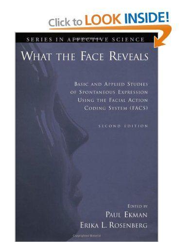 Facial Action Coding System Book