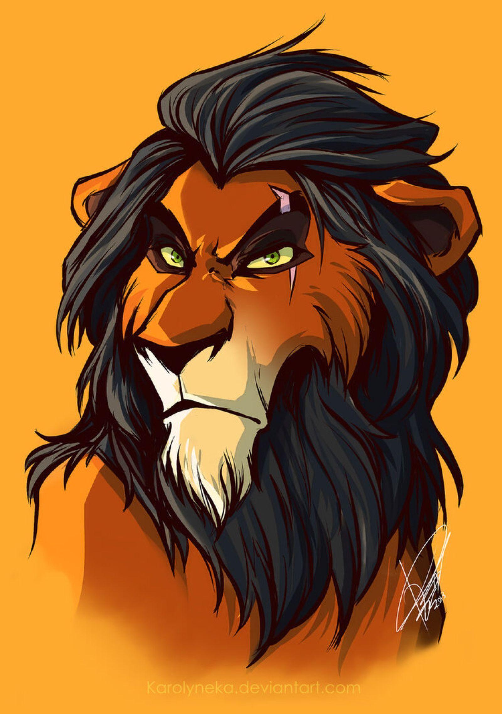 Scar by Karolykan on @DeviantArt | Disney | Pinterest | El rey leon ...