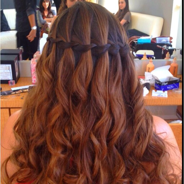 Hairstyle For Weddings, Prom, Bat Mitzvah, Sweet Sixteen