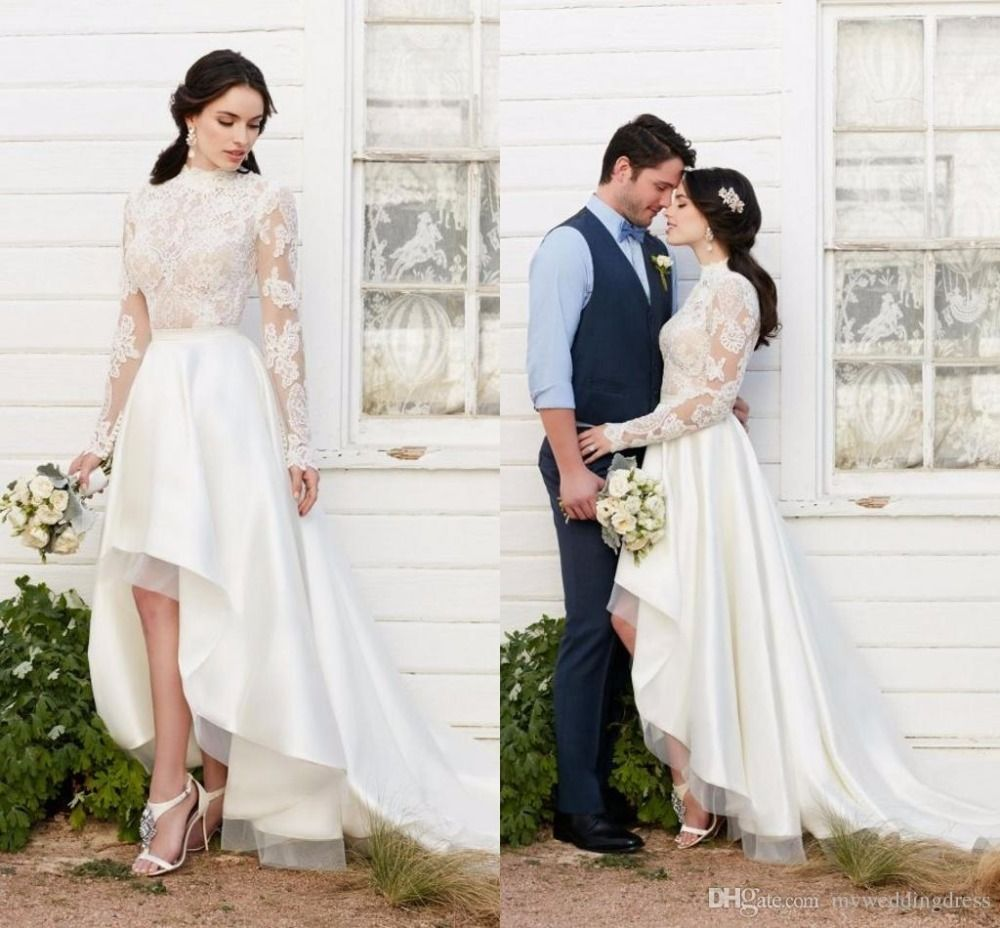 Click to buy ucuc country vintage beach wedding dresses lace