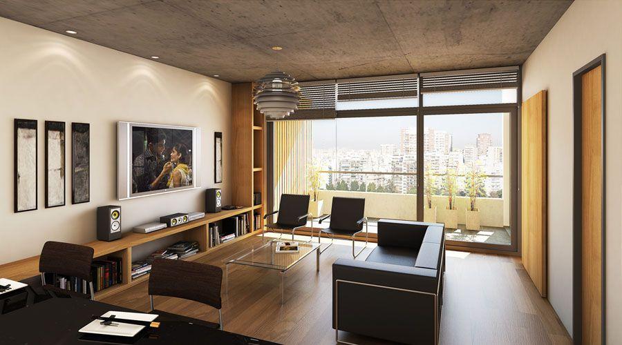 Salas de estar modernas fotos dise o de interiores for Diseno de interiores sala de estar comedor