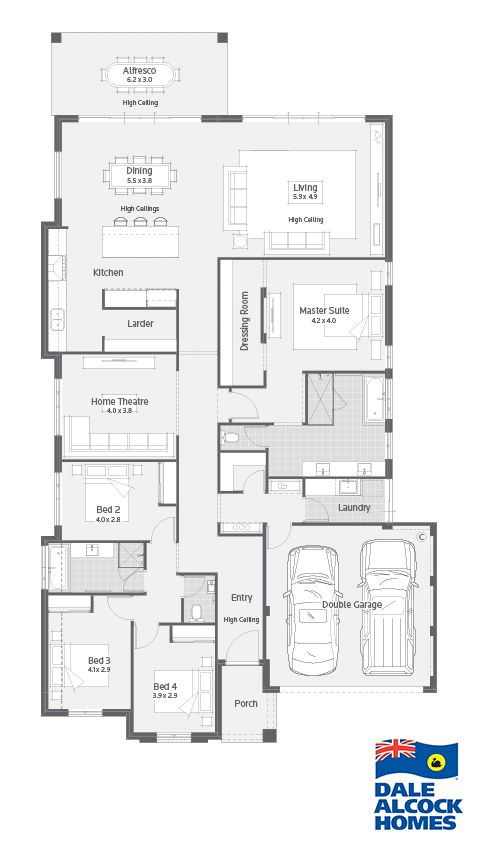 Nelson Dale Alcock Homes My House Plans House Plans Home Design Floor Plans