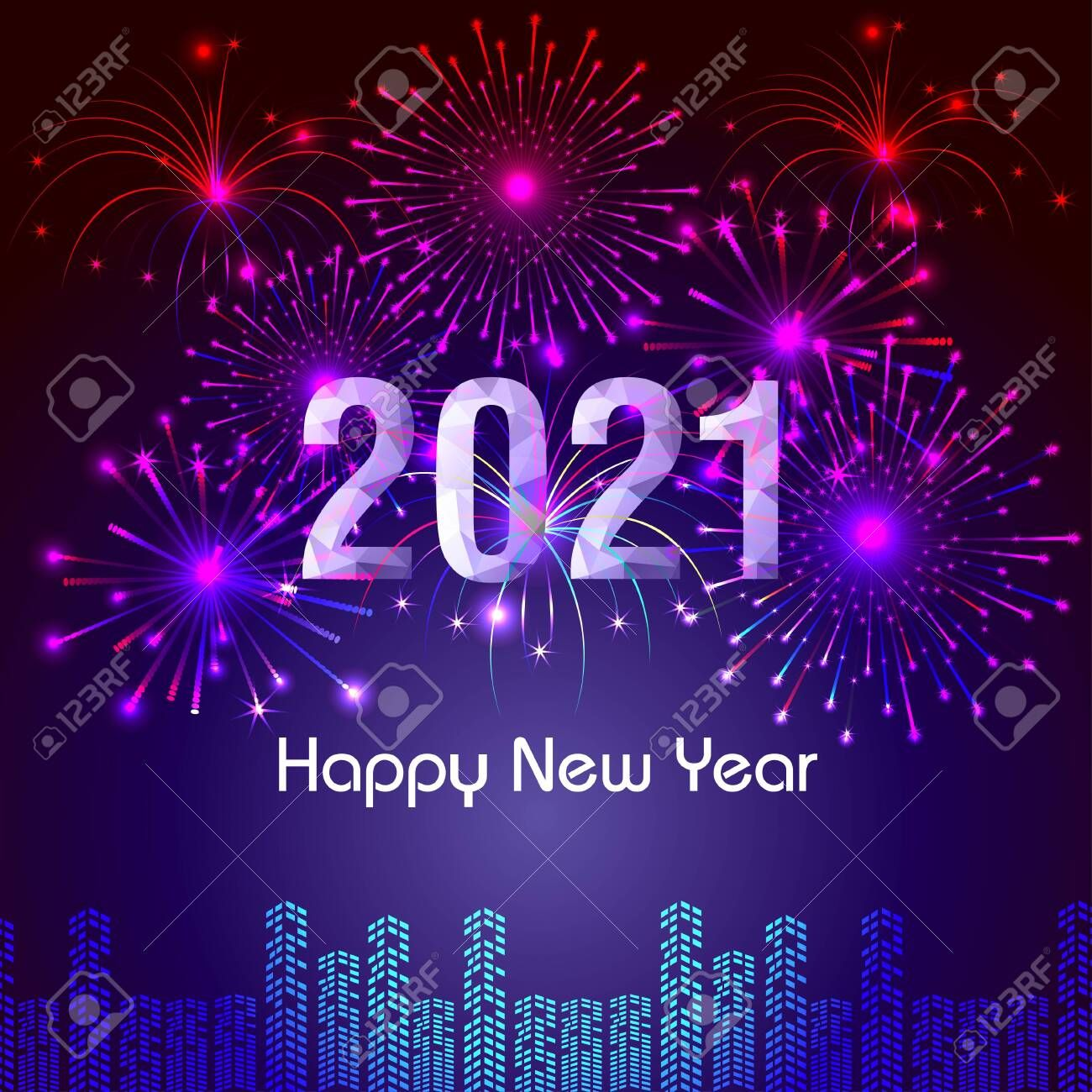 Happy New Year 2021 in 2020 Happy new year greetings