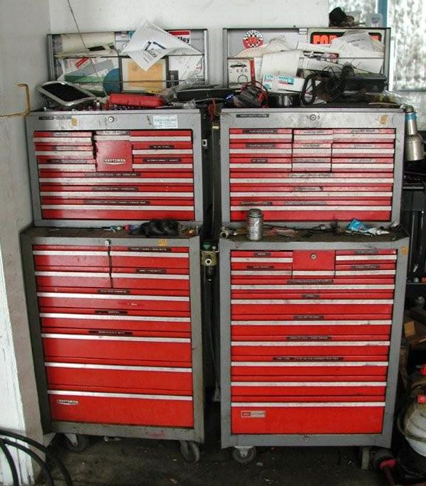 1960s - 1970s craftsman tool box - The Garage Journal Board ...