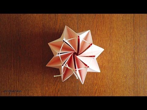 Easy sets to make your own origami lamp - YouTube