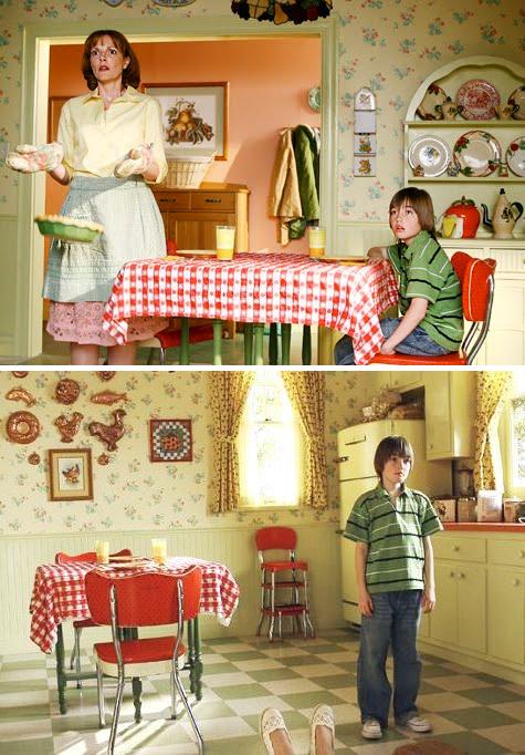 少年時代のネッドとママ。このお家がまた可愛いんですよ