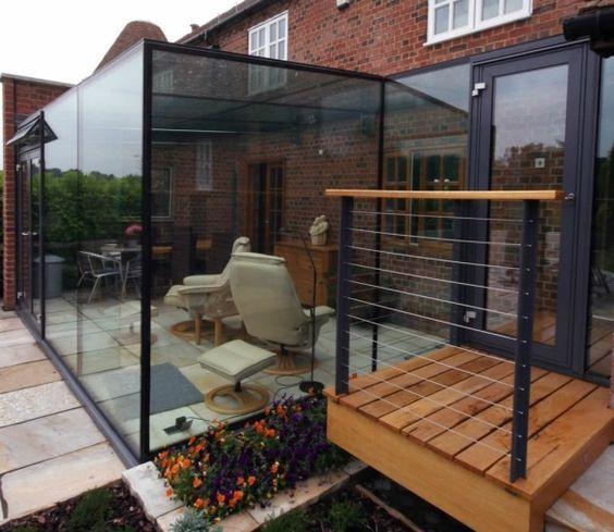 Ideen für Terrassenverglasung 25 inspirierende verglaste