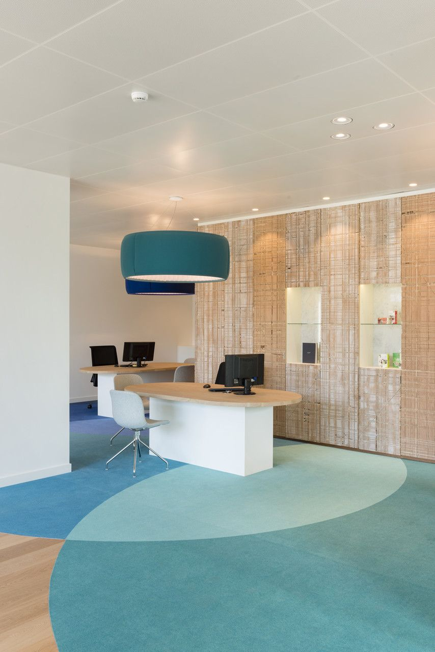 Triodos Bank S First Physical Branch Work Pinkeye Designstudio Pinkeyedesign Healthcare Interior Design Hospital Interior Design Corporate Interior Design