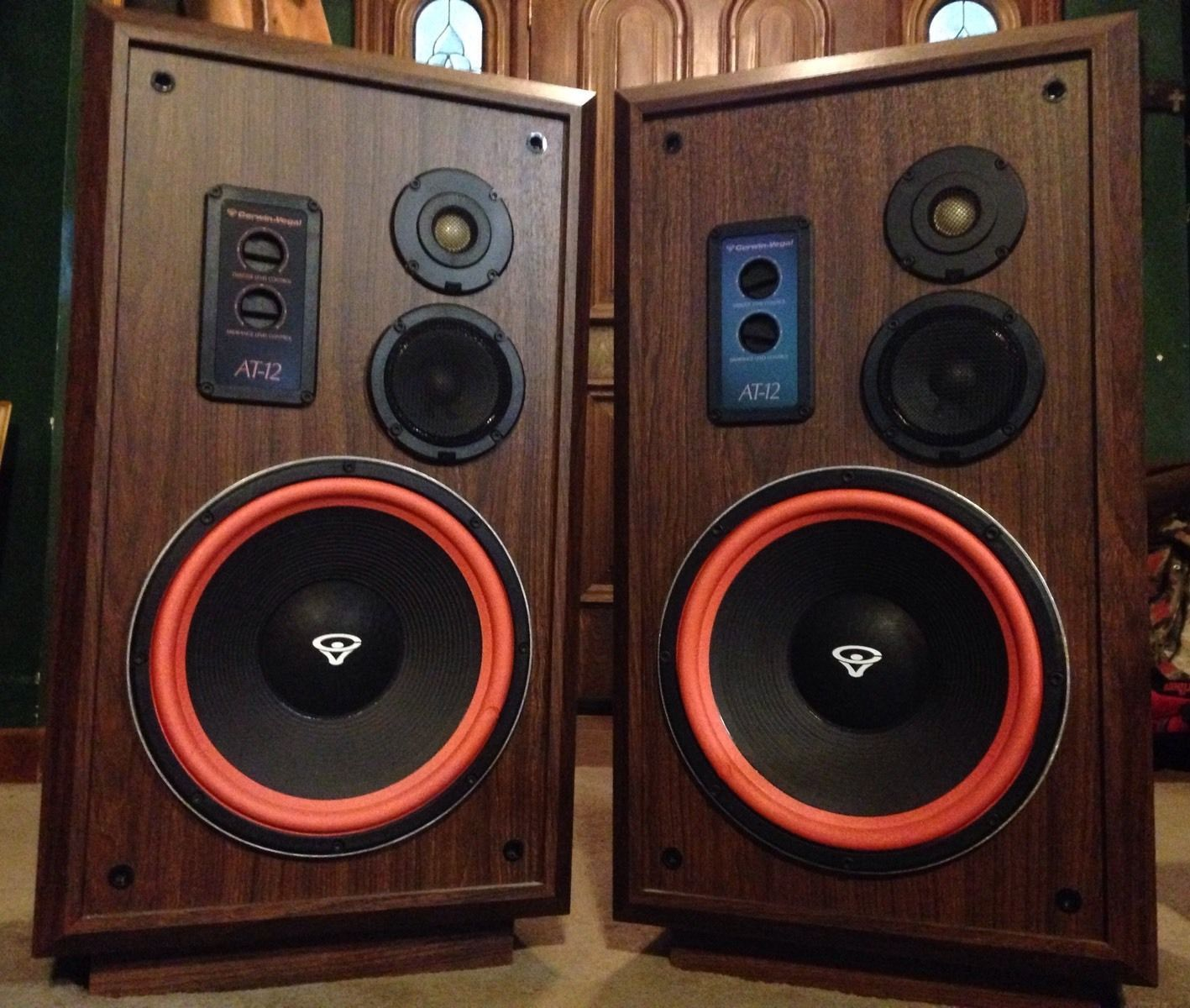 Vintage Cerwin Vega At 12 Speakers Pair In The Original Box Ebay Vintage Speakers Speakers For Sale Speaker