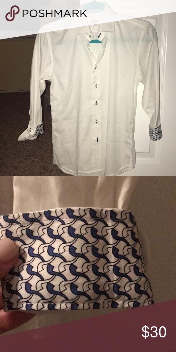 Isaac Mizrahi White Shirt