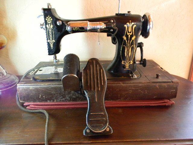 Damascus Electric Sewing Machine Antique Sewing Machines Stunning Damascus Sewing Machine