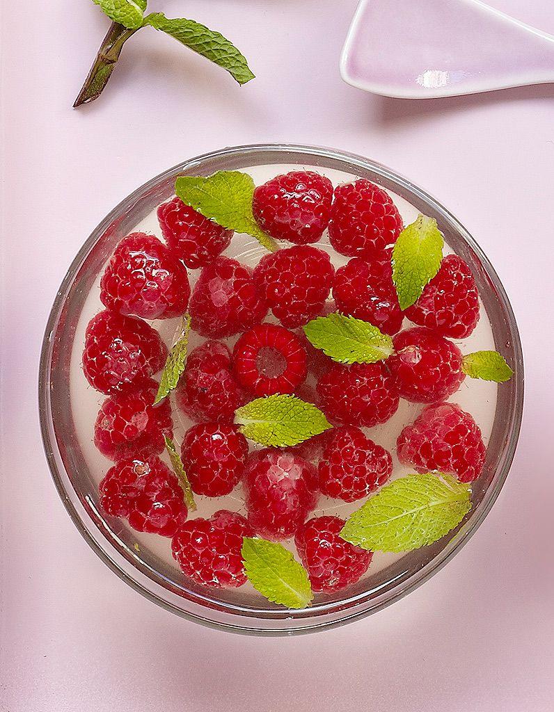 Gelée au thé vert et framboises | Recipe | Sweet | Recette ...