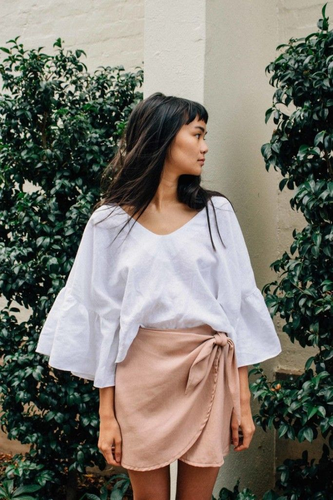 the perfect brunch blouse