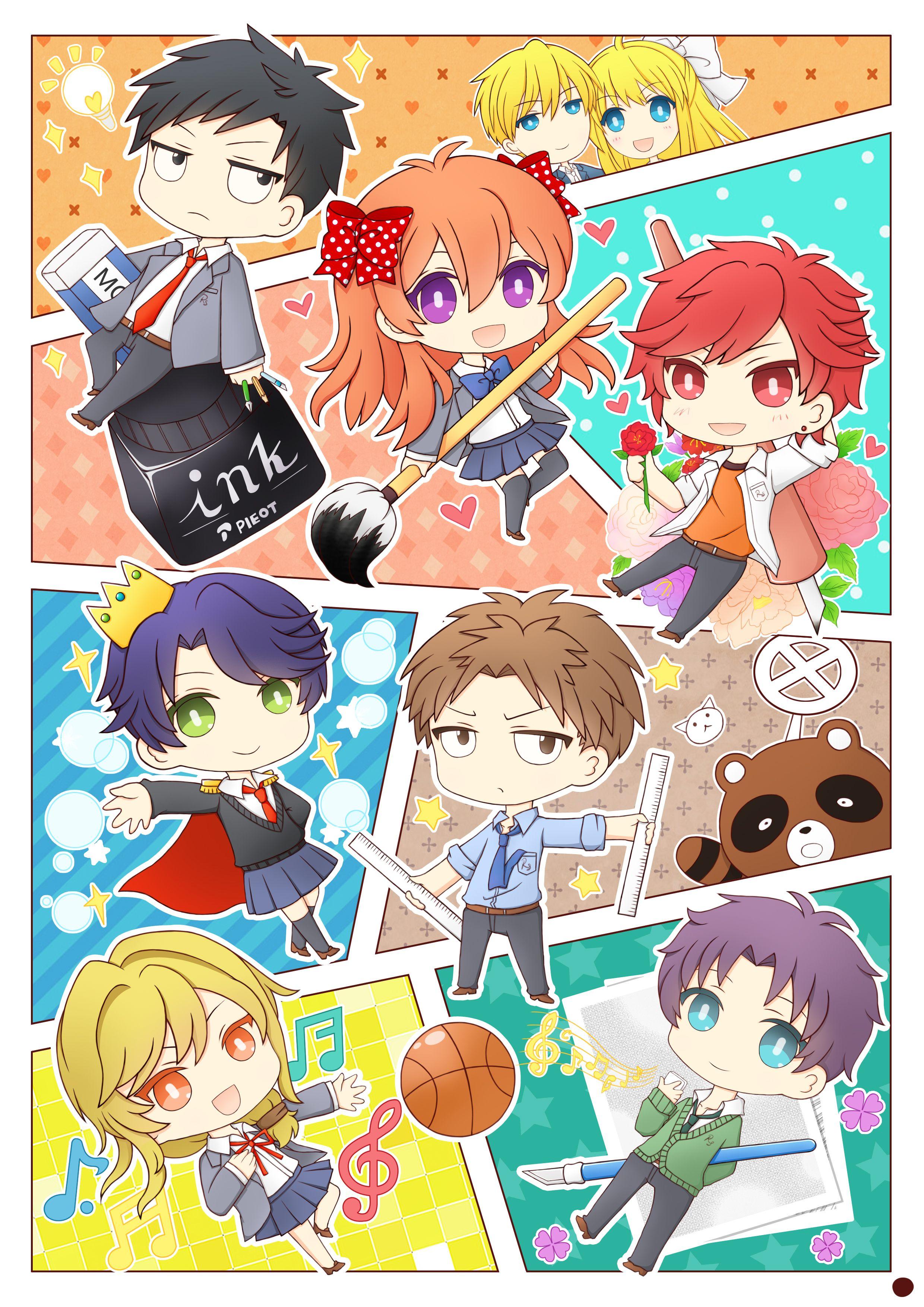 Gekkan Shoujo Nozaki Kun 1764835 Zerochan Anime Monthly