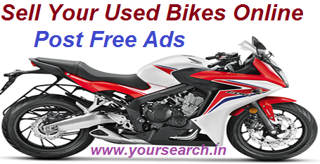 Buy And Sell Used Bikes Online Post Your Ads For Free