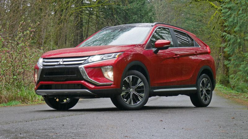 Mitsubishi Eclipse Cross Small Crossover Is An Iihs Top Safety