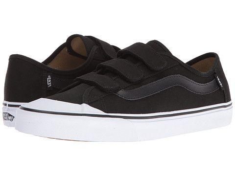 velcro vans black