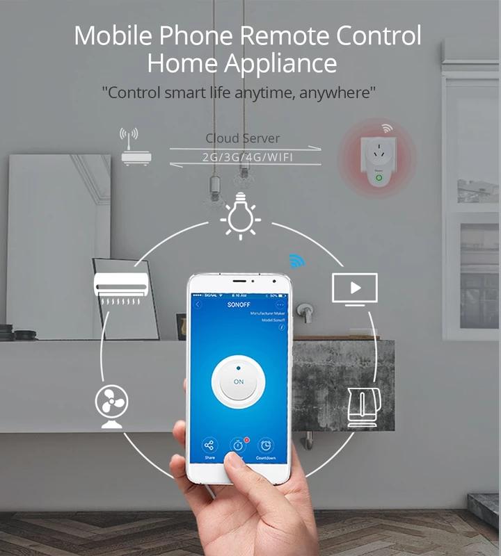 Wifi Smart Plug Us Uk Cn Au Eu Smart Home Appliances Smart Home Automation Smart Home