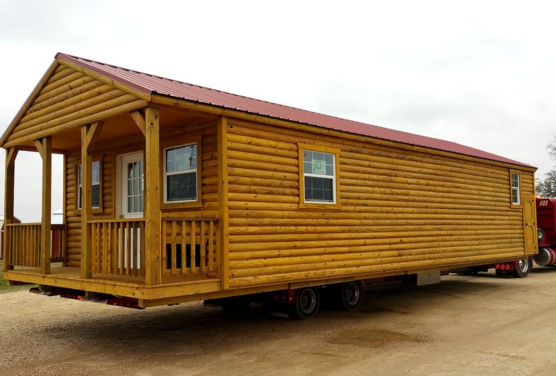 Derksen Custom Finished Portable Cabin By Enterprise Center   1 Bedroom  Cabin